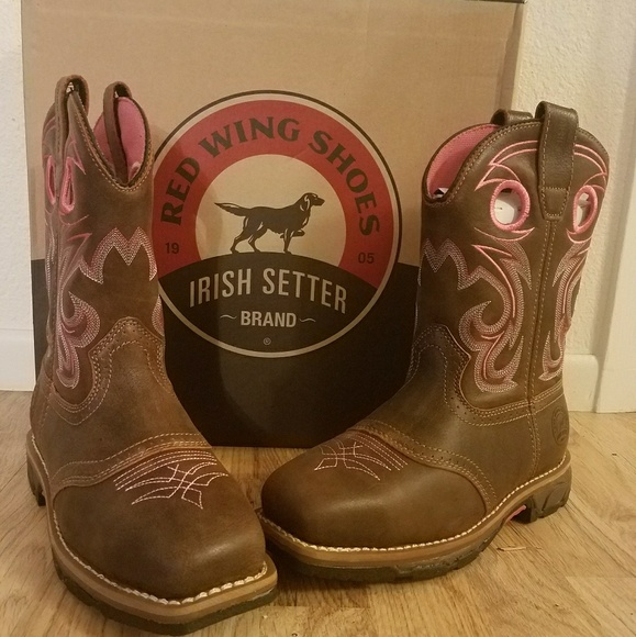 d35ab3a3a26 Red Wing Irish Setter women's work boot. Steel toe NWT
